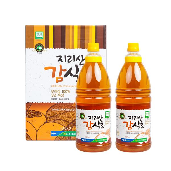 지리산감식초 1800ml 2병set